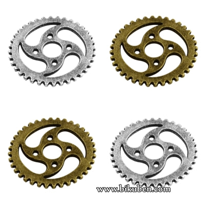 Charms - Antique Metall Mix - Gears 4