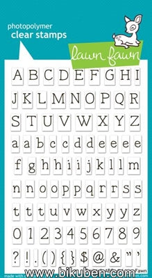 Lawn Fawn - Clearstamps - Smitty's ABCs