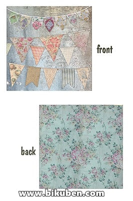 7gypsies - Architextures - Vintage Bunting 12x12""