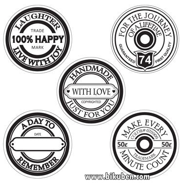 Maya Road - Acrylic Tokens - Spool Sentiments