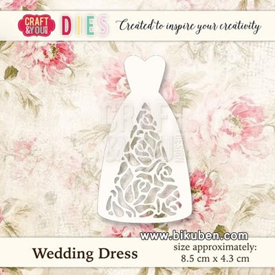 Craft & You - Cutting Dies - Wedding Dress