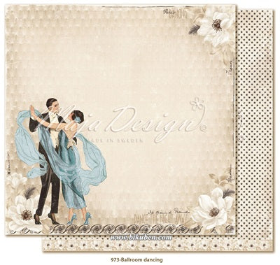 Maja Design - Celebration - Ballroom dancing      12 x 12""