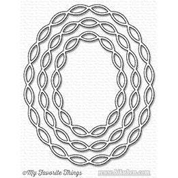 Die-Namics - Linked Chain - Oval Frames