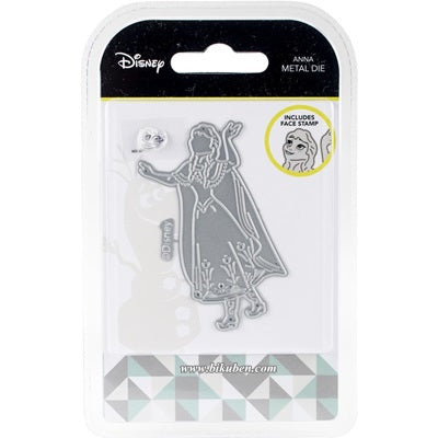 Disney - Dies & Stamp Face set - Frozen - Anna