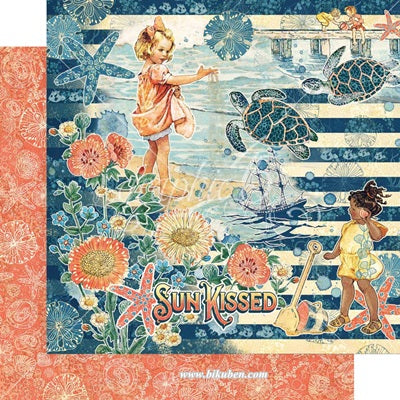 Graphic45 - Sun Kissed - Sun Kissed    12 x 12""