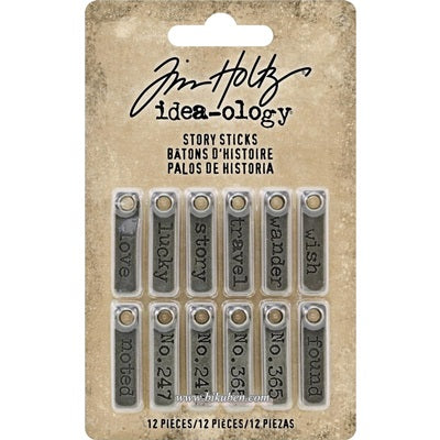Tim Holtz - Idea-Ology - Story Sticks