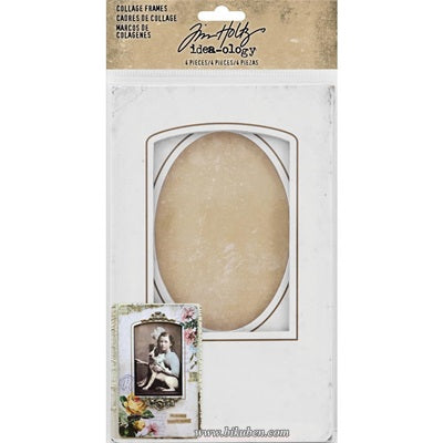 Tim Holtz - Ideaology - Collage Frames