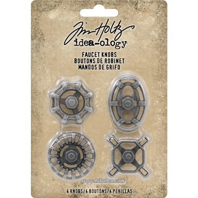 Tim Holtz - Ideaology - Faucet Knobs