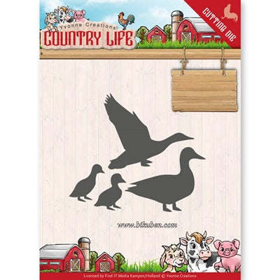 Yvonne Creations - Country Life - Ducks Dies