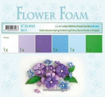 Leane - Flower Foam - Assorted set 2