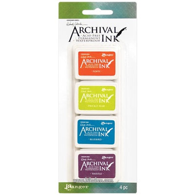 Ranger - Archival Ink Pad - Wendy Vecchi- Mini Pad Kit -