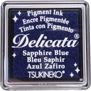Delicata - Small Ink - Sapphire Blue Shimmer
