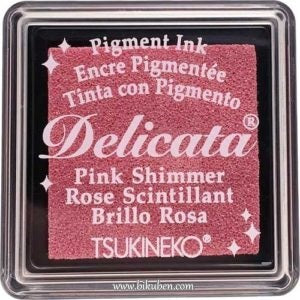 Delicata - Small Ink - Pink  Shimmer