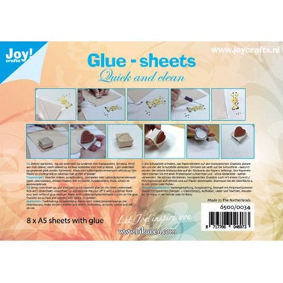 Joy - Glue sheets