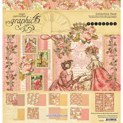 Graphic45 - Princess - Collection Pack       12x12""