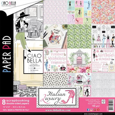 Ciao Bella - Italian Luxury - Paper Pack      12 x 12""