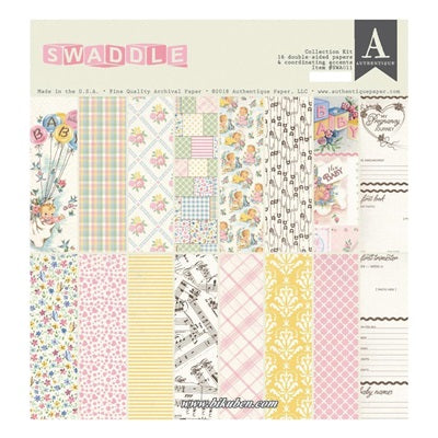 Authentique - Swaddle Girl- Collection Kit      12 x 12""