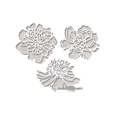 Tim Holtz Alterations - Thinlits - Cutout Blossoms