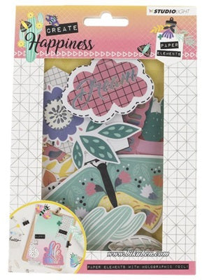 Studiolight - Create Happiness - Paper Elements - 1