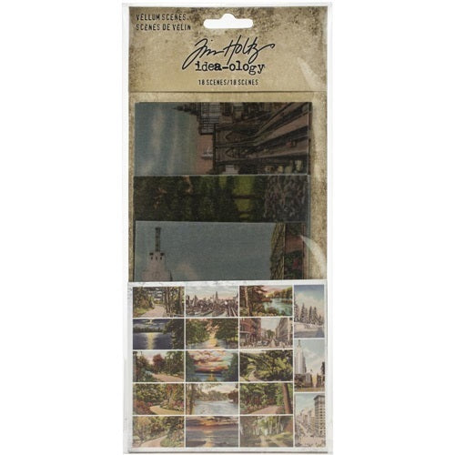 Tim Holtz -  Ideaology - Vellum Scenes