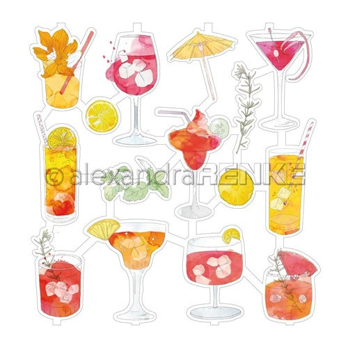 Alexandra Renke - Cocktails Collection - Die Cuts - Summer Cocktails