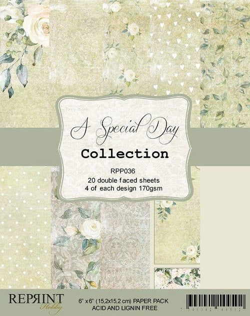 Reprint - A special day -  Collection Pack - 6 x 6""