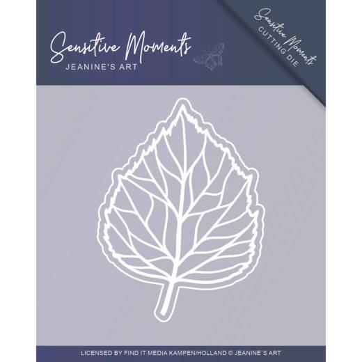 Jeanine Art - Dies - Sensitive Moments - Leaf