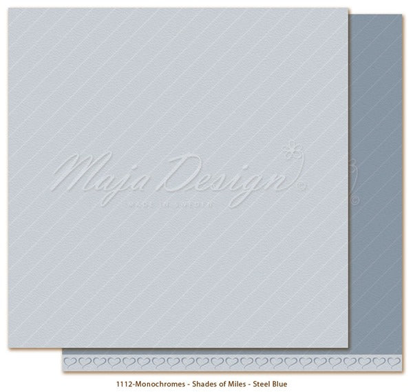 Maja Design - Monochromes - Shades of Miles - Steel Blue