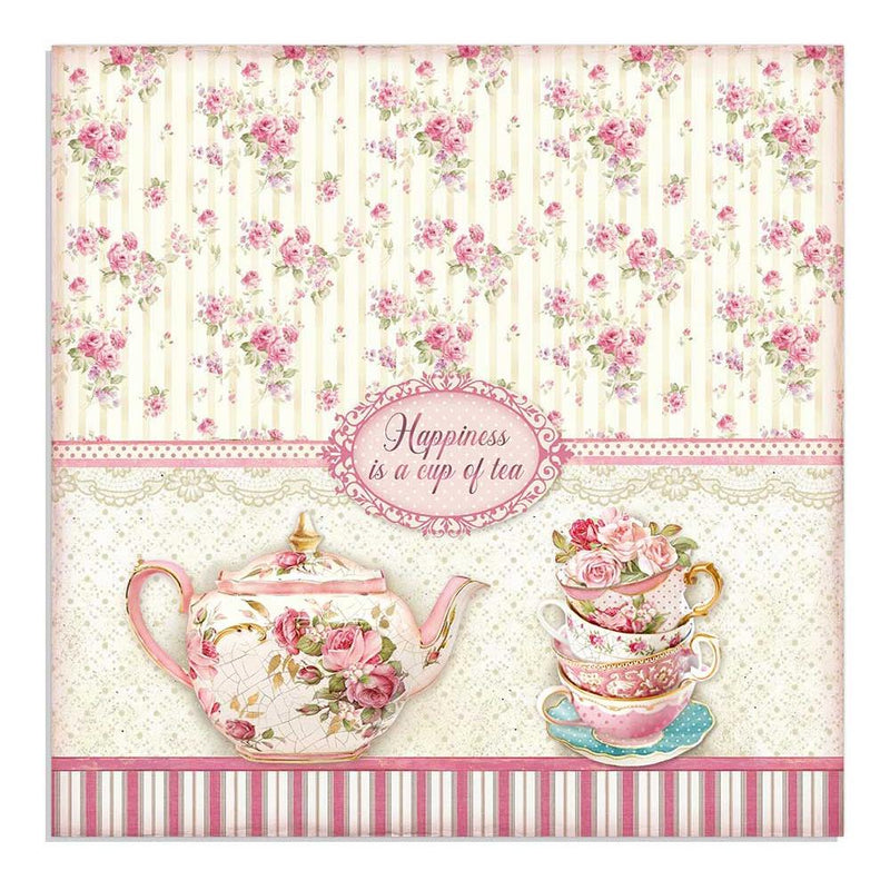 Stamperia - Sweety - Cup of tea  - 12 x 12""
