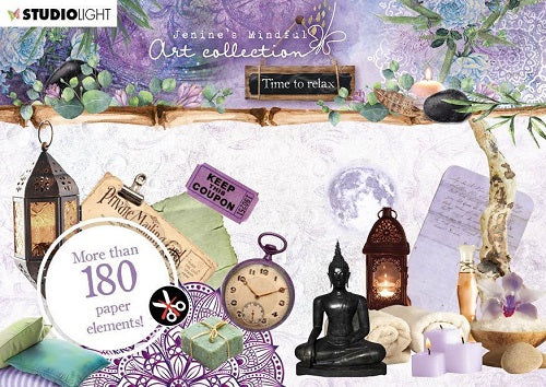 Studiolight - Jenine's Mindful Art Collection - Time to Relax - Die Cuts 1