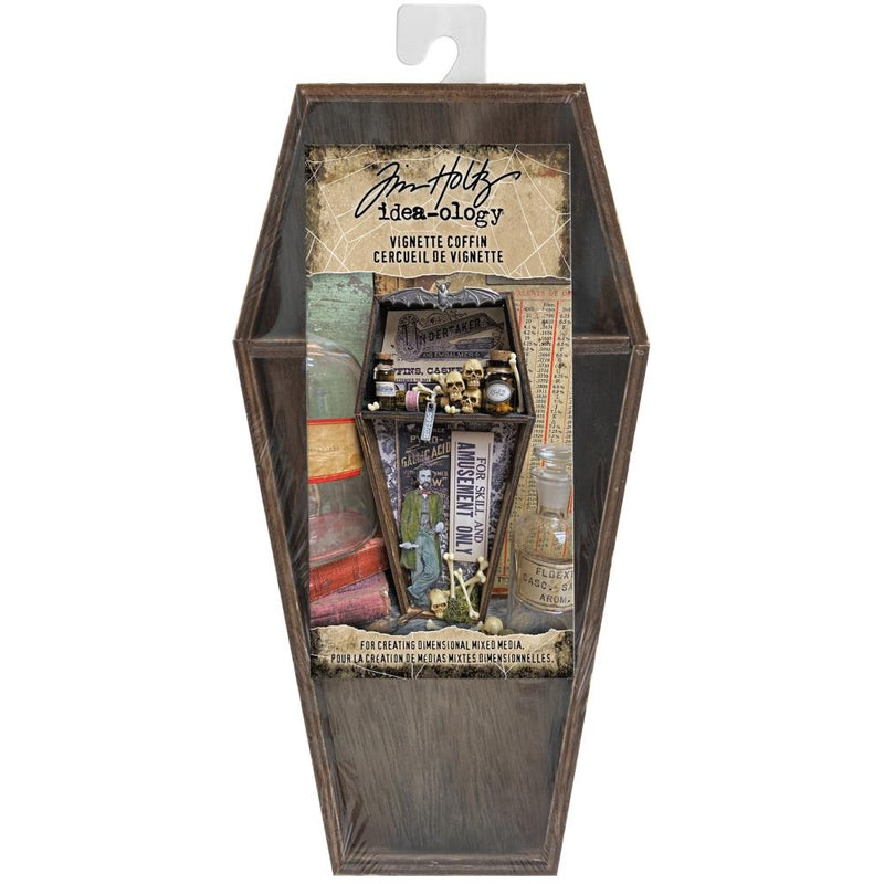 Tim Holtz - Halloween 2020 - Vignette Box-  Coffin