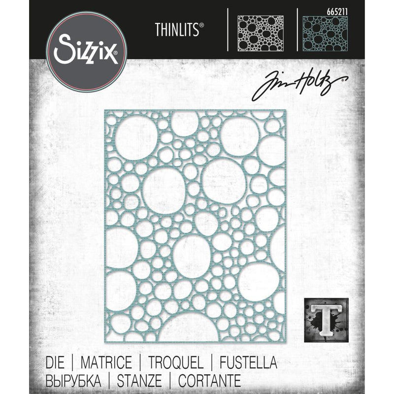Sizzix - Tim Holtz Alterations - Thinlits - Bubbling
