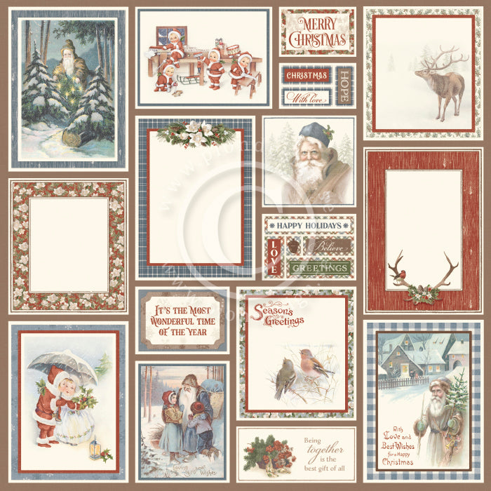 Pion Design - A Woodland Christmas Tale - Merry days  12x12""