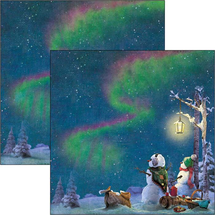Ciao Bella - Northern Lights - Paper Pack   (24 ark) 6 x 6""