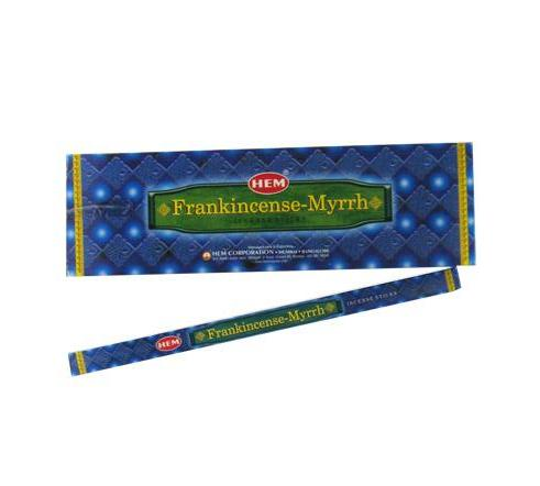 Frankincense + Myrrh Hem Incense - 8 Sticks
