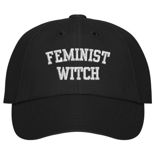 Feminist Witch Ball Cap