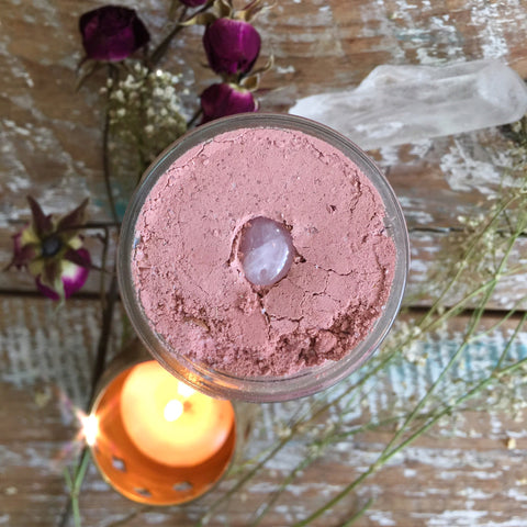 Rose Quartz - Love, Tenderness, + Sensuality - Bubbling Ritual Bath