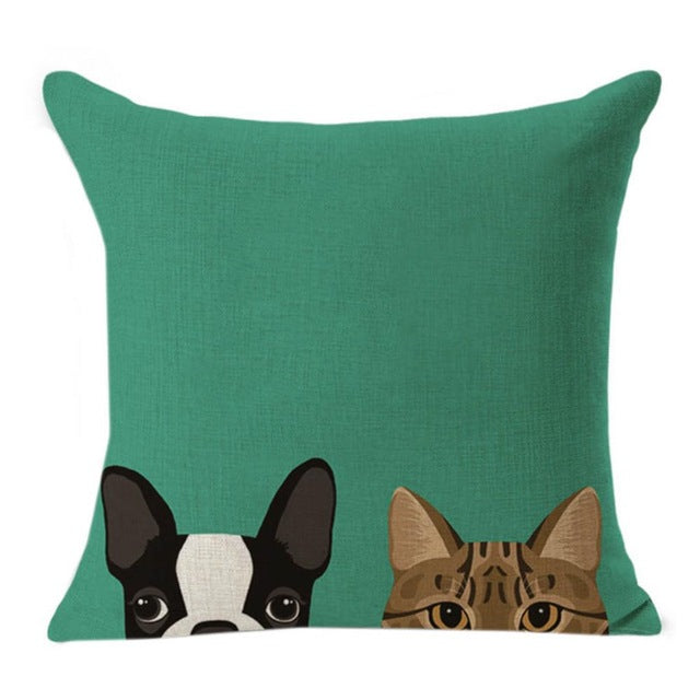 French Bulldog Cushion Cover Pillowcase Home Decor