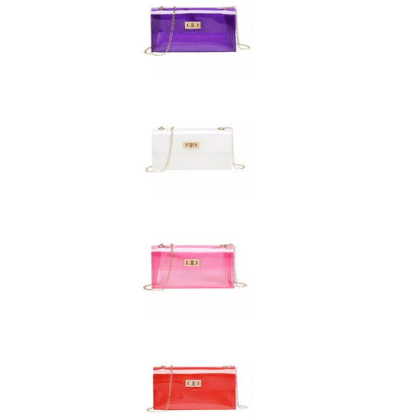 Cross body jelly bags