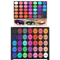 35 Bright Colors Eye Shadow Pallete