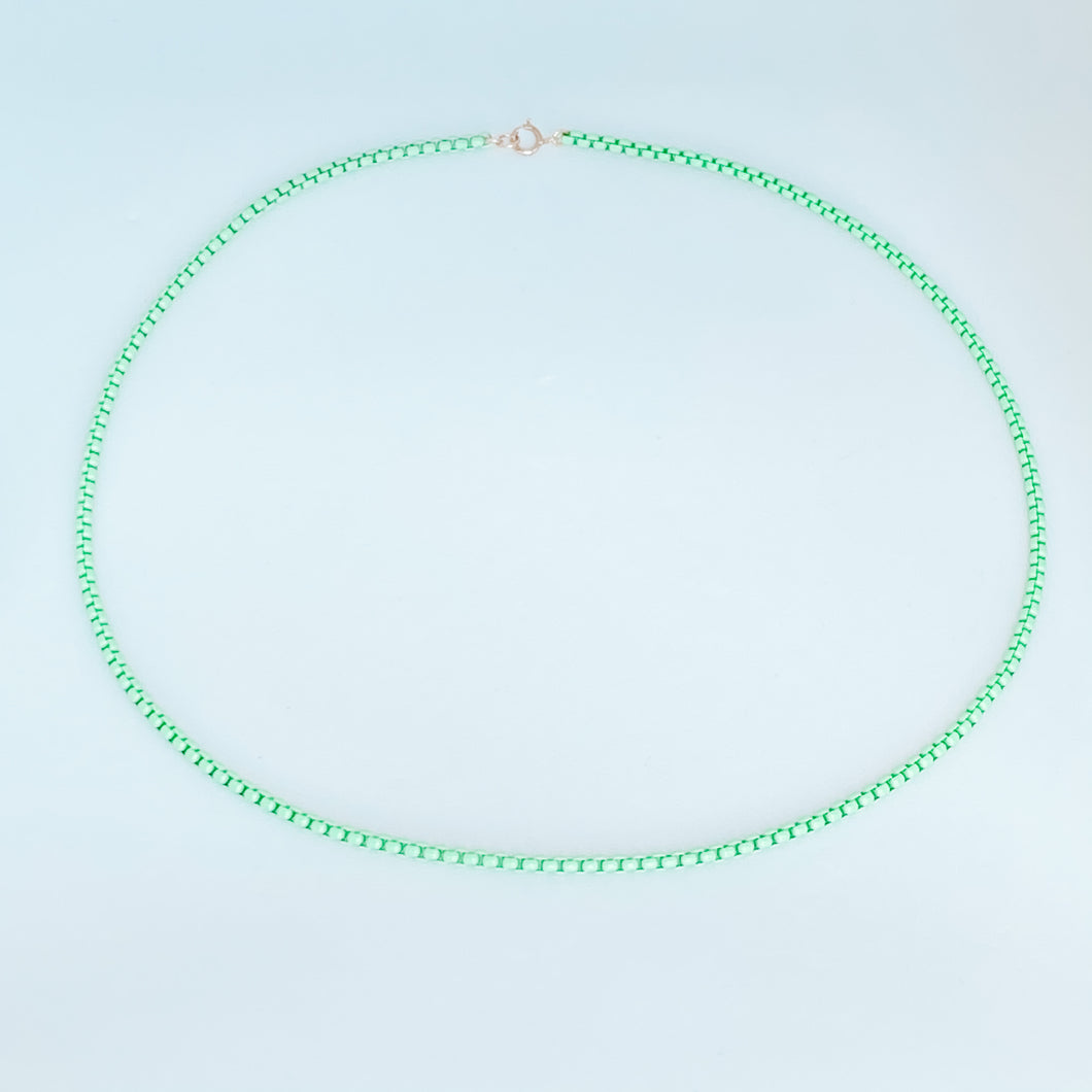 Nikki Necklace - Lime