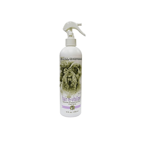 #1 ALL SYSTEMS Hair Revitalizer & Anti-Static Spray for Dogs and Cats 12oz