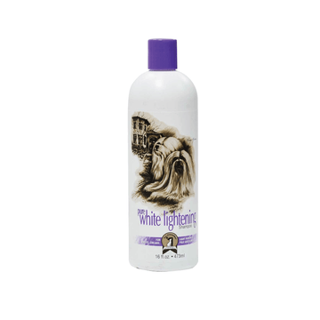 #1 ALL SYSTEMS Pure White Lightening Shampoo for Dogs and Cats (2 Sizes)