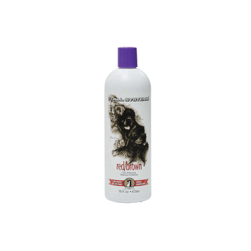 #1 ALL SYSTEMS Color Enhancing Red/Brown Conditioner for Dogs and Cats 16oz