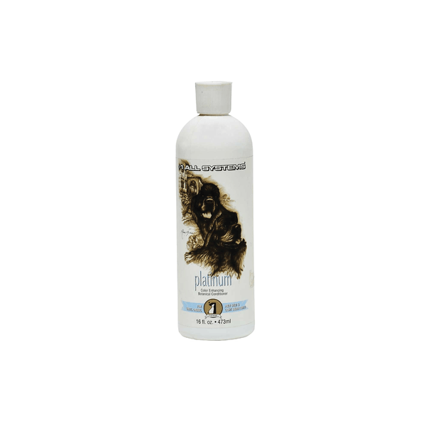 #1 ALL SYSTEMS Color Enhancing Platinum Conditioner for Dogs and Cats 16oz