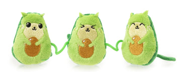 FuzzYard Avocatos Cat Plush Toy