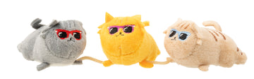 FuzzYard Cool Cats Cat Plush Toy