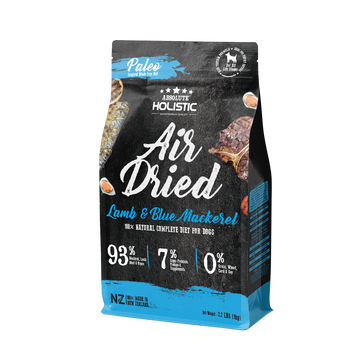 Absolute Holistic Air Dried Blue Mackerel & Lamb Dog Food 1kg