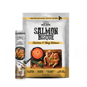 Absolute Holistic Salmon Bisque (Chicken & King Salmon) Cat & Dog Treats 60g