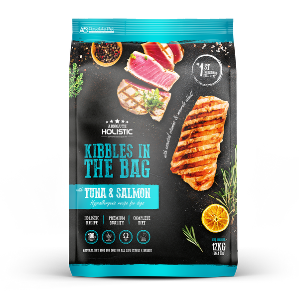 Absolute Holistic Kibbles in the Bag Tuna & Salmon Dry Dog Food